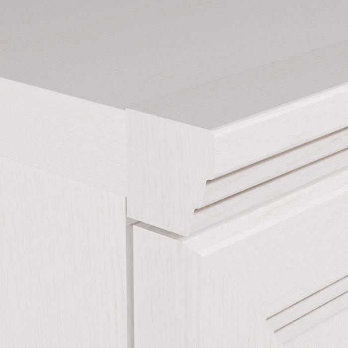 Комод Белладжио белого цвета с шестью ящиками
