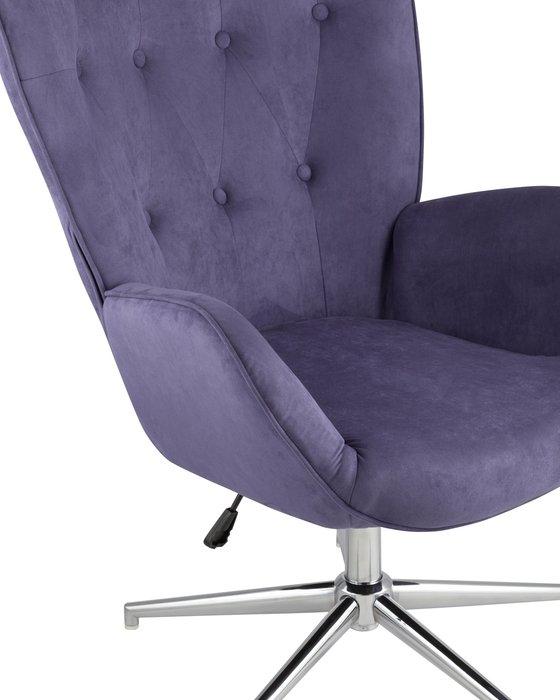Кресло Филадельфия синего цвета