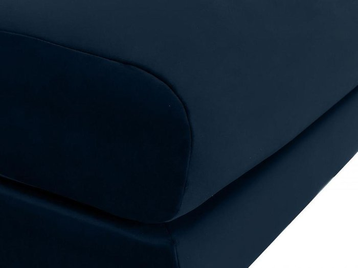 Пуф Italia темно-синего цвета