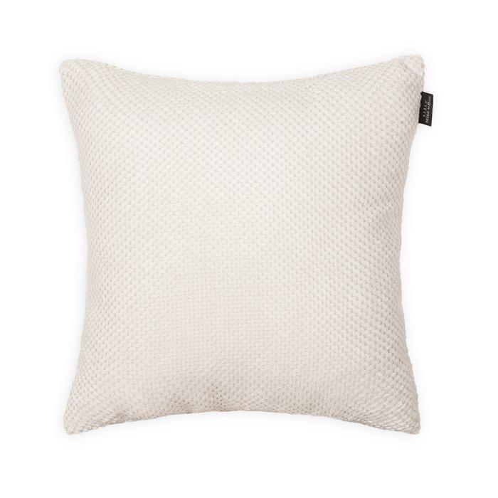 Декоративная подушка Citus White белого цвета