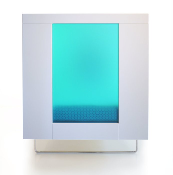 кроватка Spot On Square Alto Aqua Translucent Acrylic