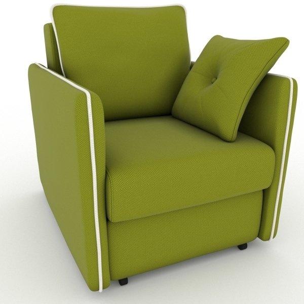 Кресло-кровать Cardinal зеленого цвета