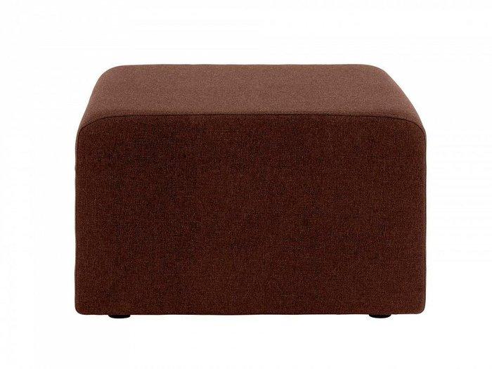 Пуф Kansas коричневого цвета
