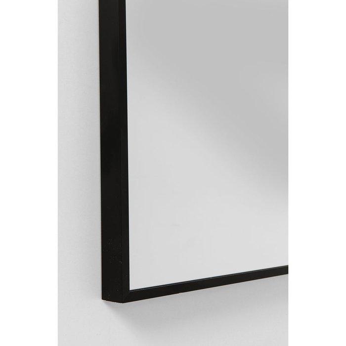 Зеркало Bella с черной металлической рамой