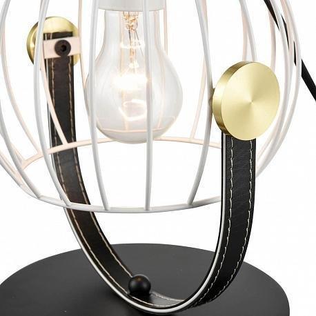 Настольная лампа Pasquale белого цвета