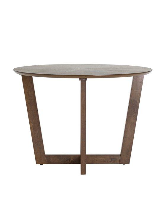 Стол обеденный Kay коричневого цвета