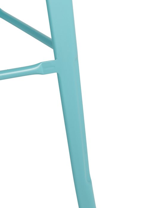 Барный табурет Tolix голубого цвета