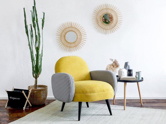 Кресло Bordo светло-серого цвета
