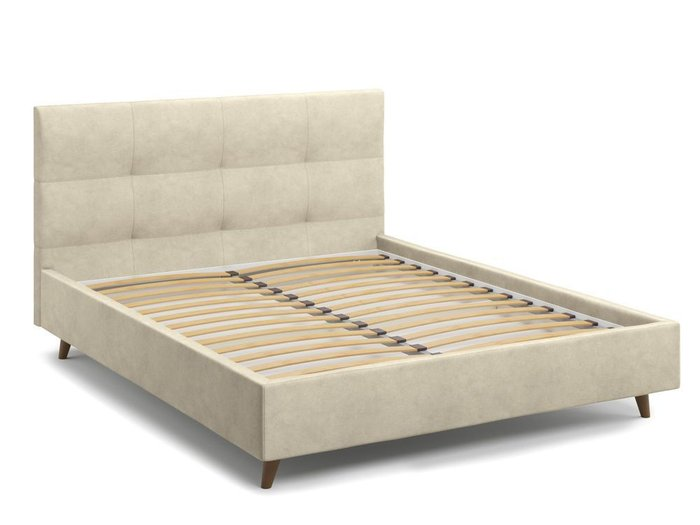 Кровать Garda 160х200 бежевого цвета