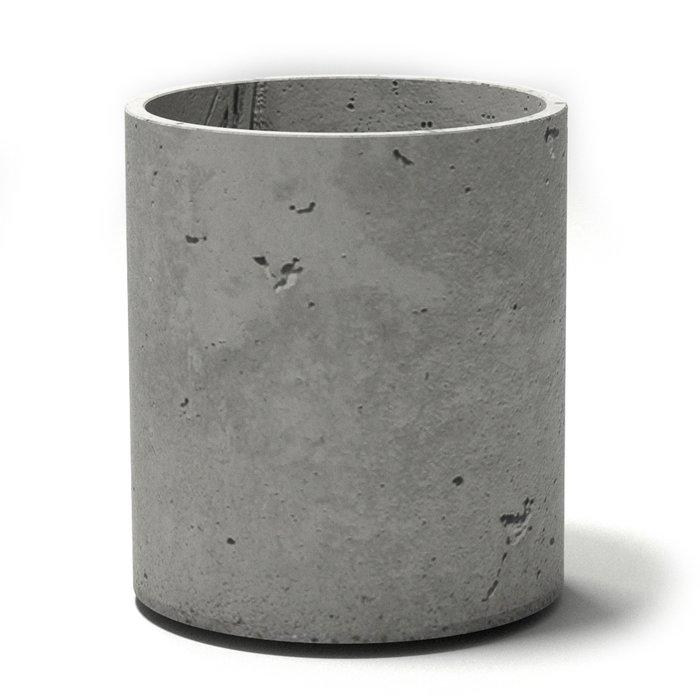 Кашпо Cylinder из бетона