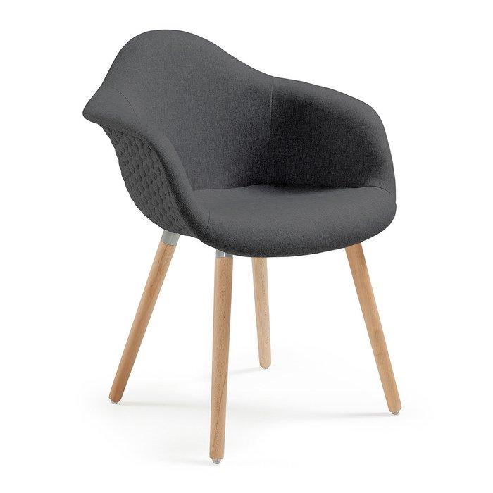 Кресло Julia Grup Kenna темно-серое
