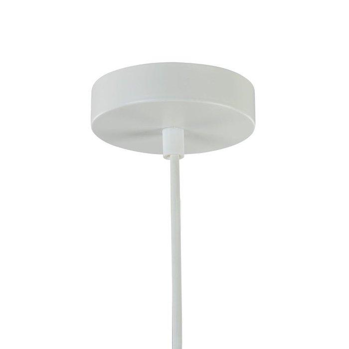 Подвесной светильник Louvre белого цвета