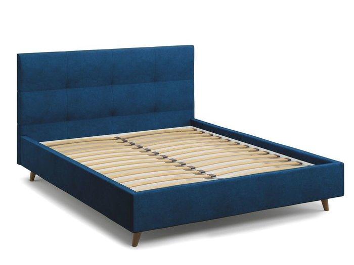 Кровать Garda 140х200 синего цвета