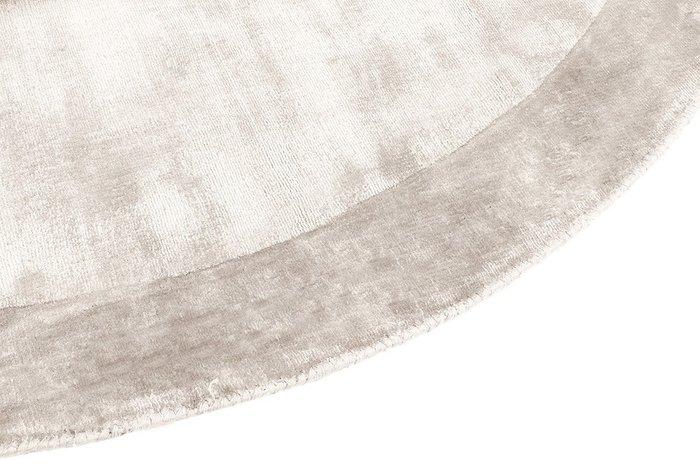 Ковер Tere бежевого цвета диаметр 200