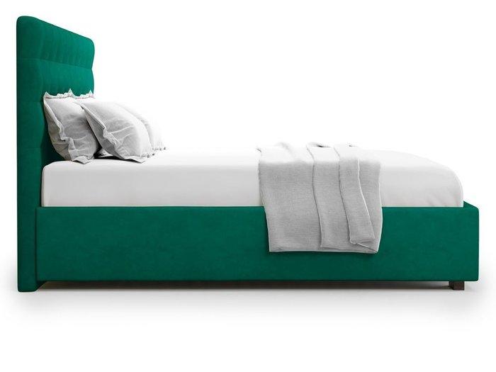 Кровать с подъемным механизмом Brayers 180х200 зеленого цвета