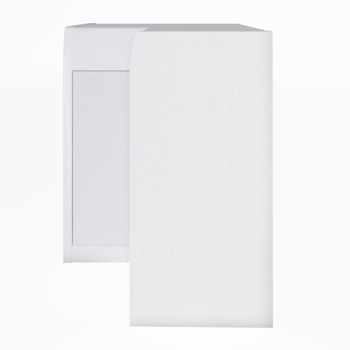 Угловой комод Илона белого цвета