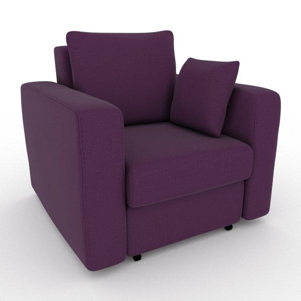 Кресло-кровать Liverpool фиолетового цвета