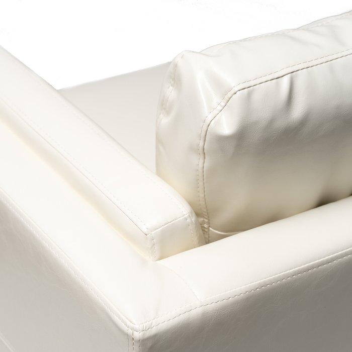 Прямой диван Kent белого цвета