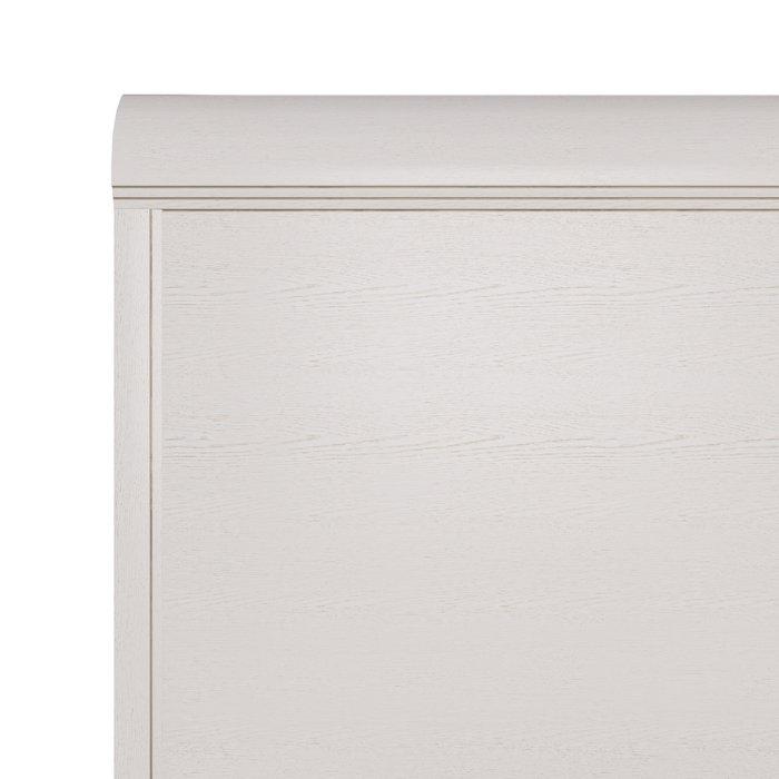 Кровать Белладжио 160х200 белого цвета с подъемным механизмом