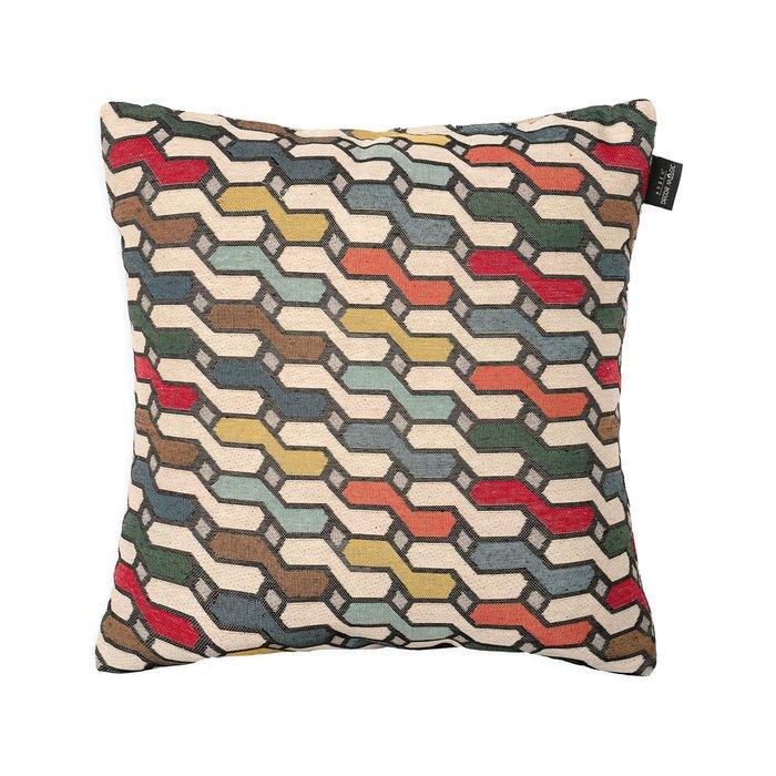 Декоративная подушка History Bricks из полиэстера