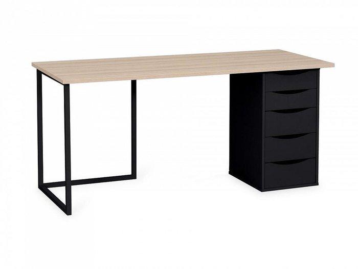Письменный стол Board с основанием красного цвета