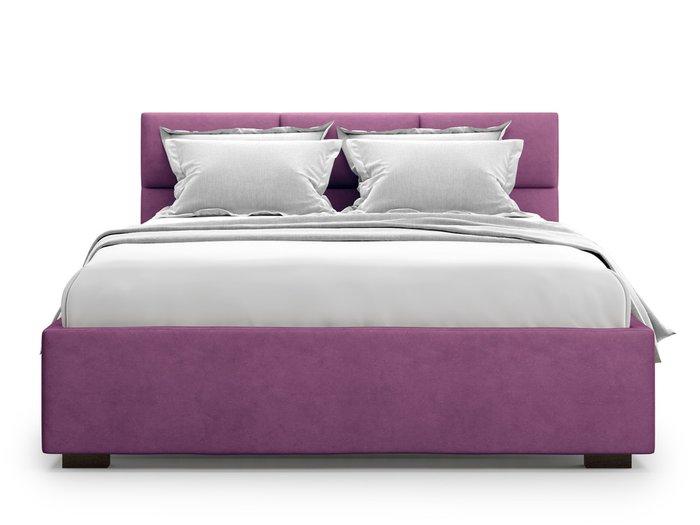 Кровать Bolsena 180х200 пурпурного цвета с подъемным механизмом