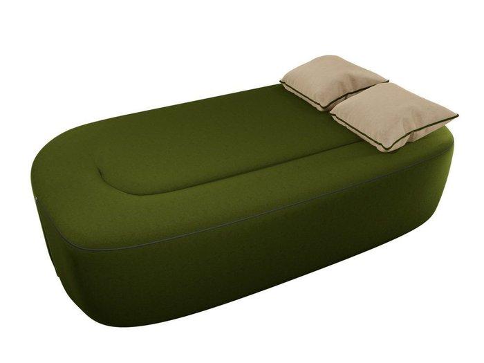 Диван-кровать Томас зеленого цвета
