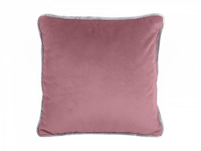 Подушка декоративная Boxy темно-розового цвета