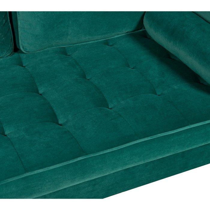 Прямой диван Scott зеленого цвета