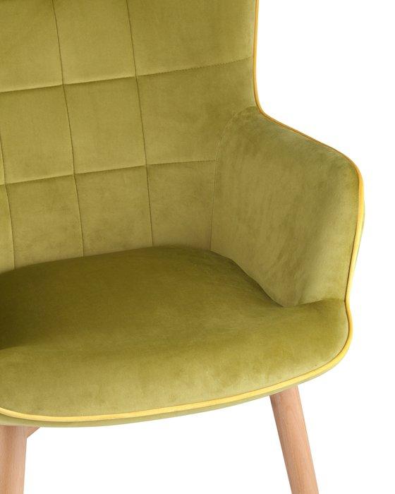 Кресло Манго оливкового цвета