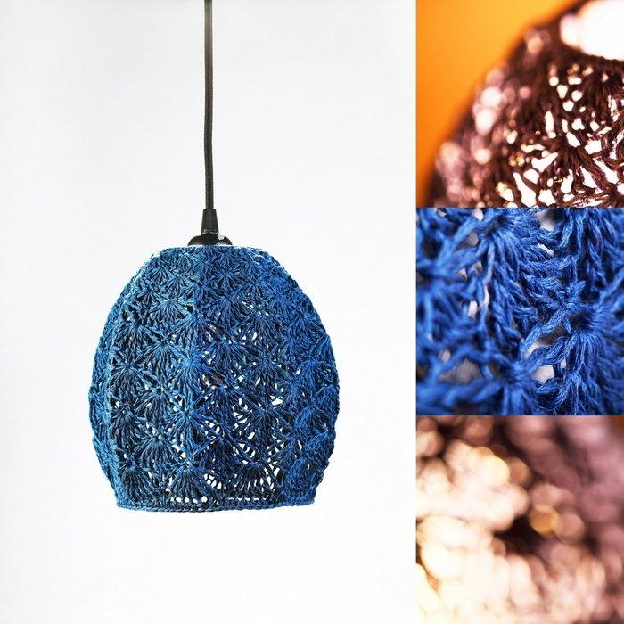 Подвесной светильник Тюльпан Большой синий