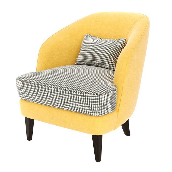 Кресло Ruta желтого цвета