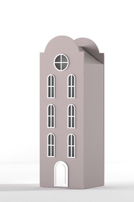 Шкаф-домик Рига Medium кремового цвета