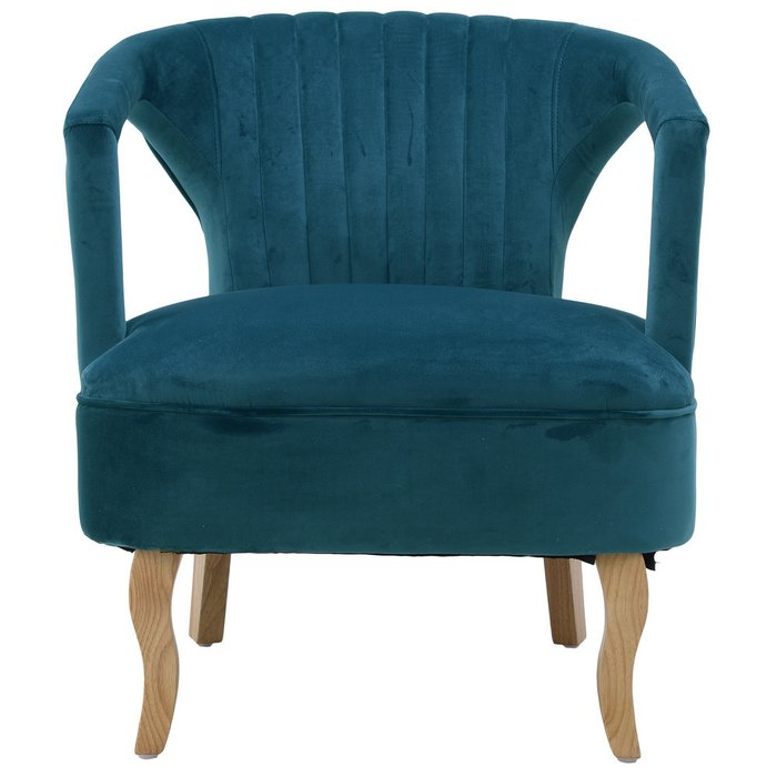 Кресло темно-бирюзового цвета