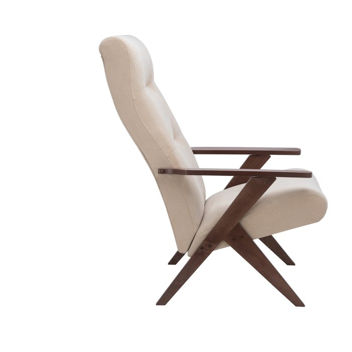 Кресло Tinto релакс бежевого цвета