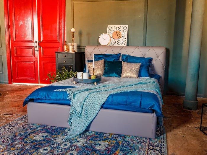 Кровать Ember салатового цвета 160х200