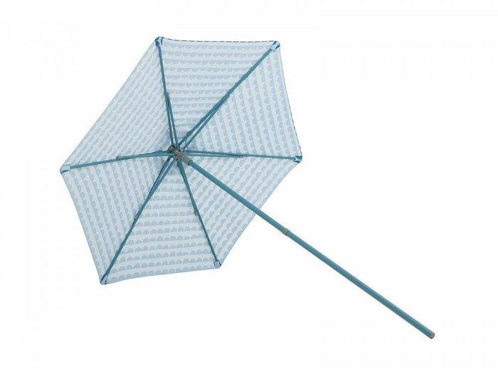 Разборный пляжный зонт Breeze серого цвета