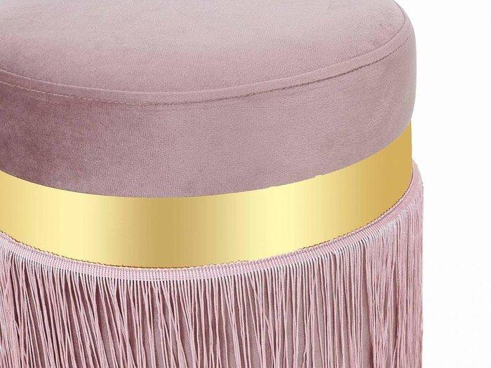 Пуфик Lotto серо-розового цвета