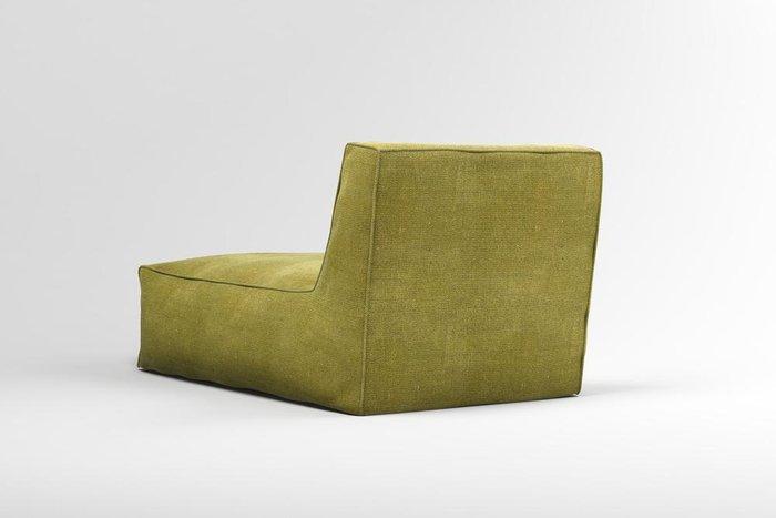 Лежак Quadro Neo зеленого цвета