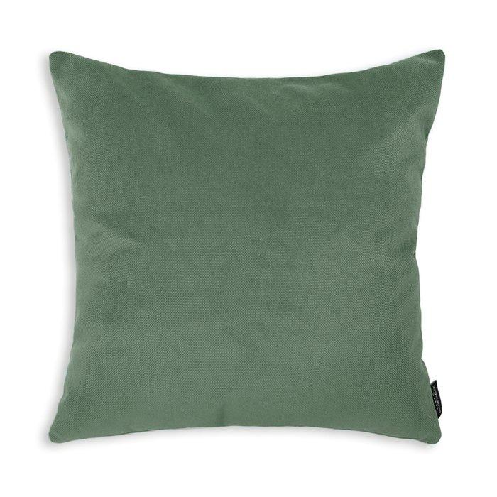 Декоративная подушка Amigo Green зеленого цвета