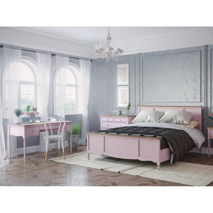 Кровать односпальная Leblanc лавандового цвета  120х200
