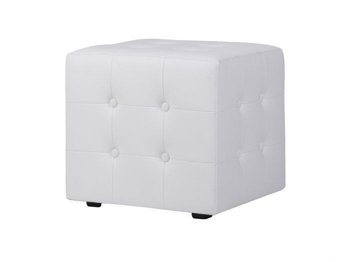 Пуф Rubik Plus белого цвета