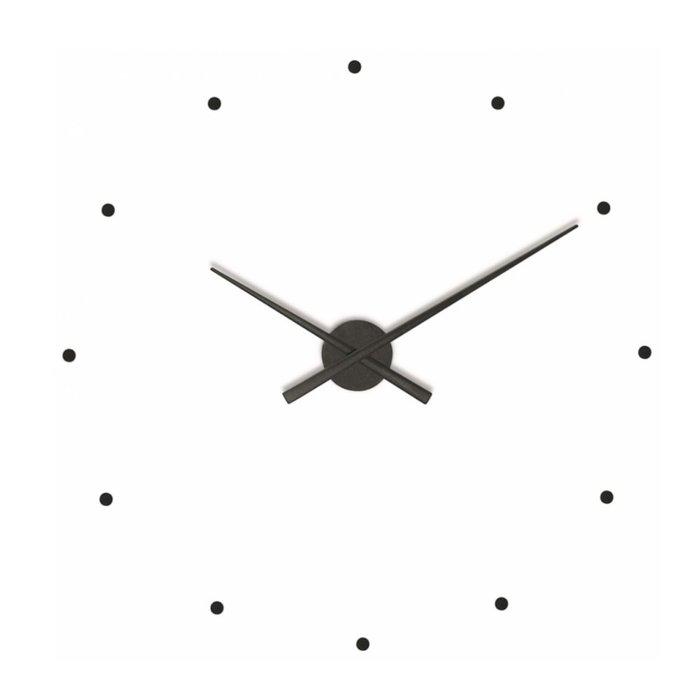 Часы Oj Black из пластика черного цвета