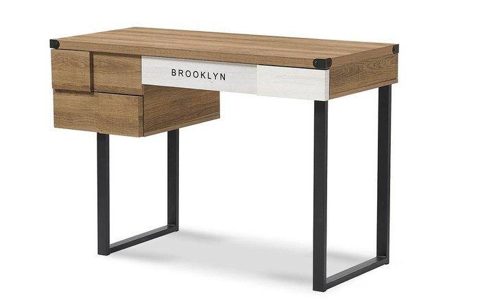 Стол письменный Brooklyn коричневого цвета