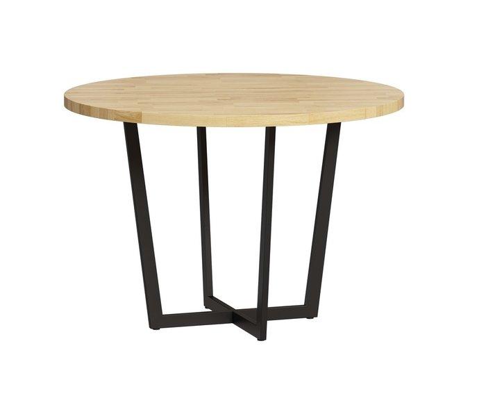 Стол обеденный Лондейл с черным основанием