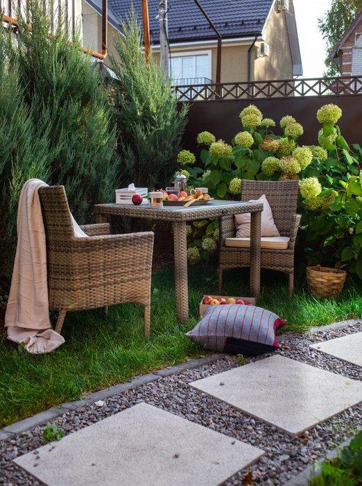 Кресло садовое Milano черного цвета