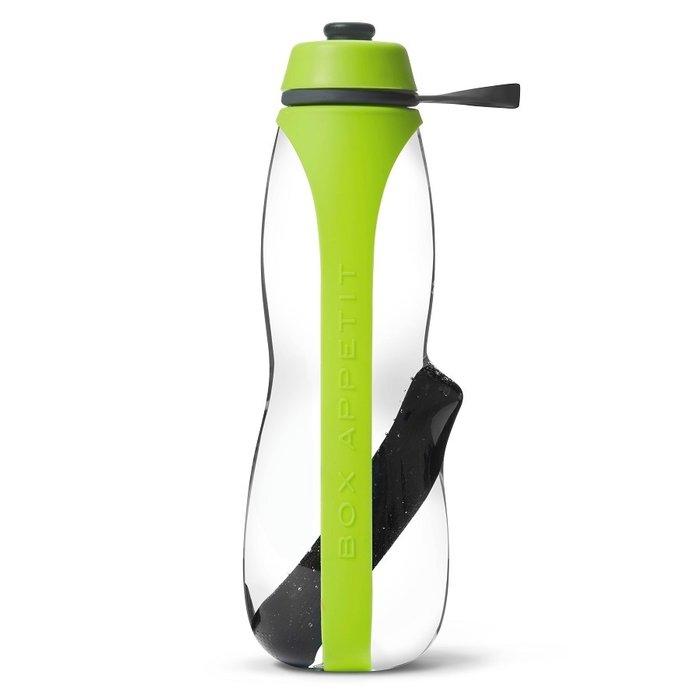 Эко-бутылка Eau Good Duo зеленая с фильтром