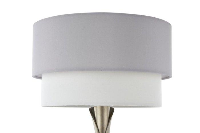 Настольная лампа Lillian с двухцветным абажуром