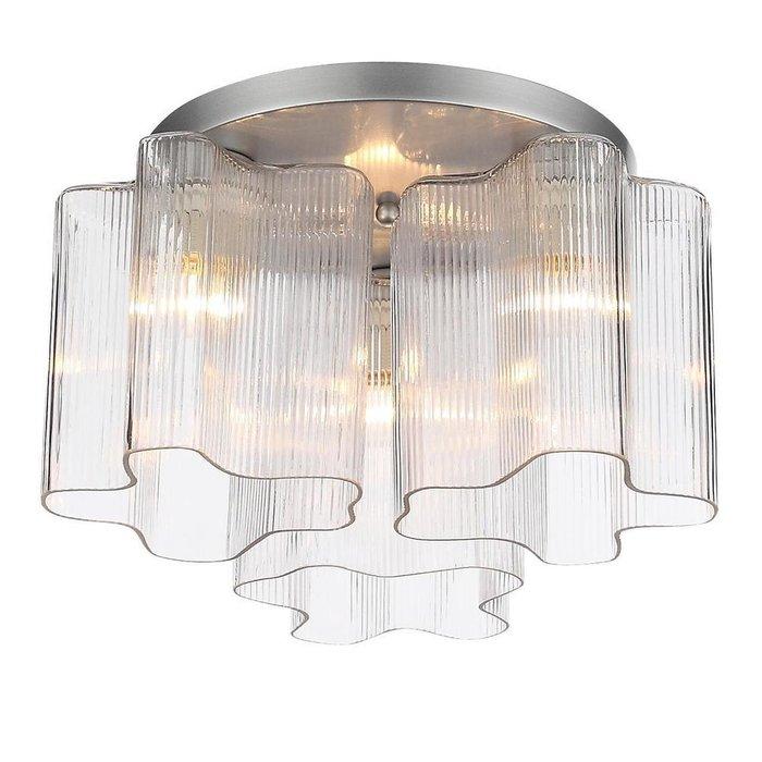 Потолочная люстра Onde с прозрачными плафонами