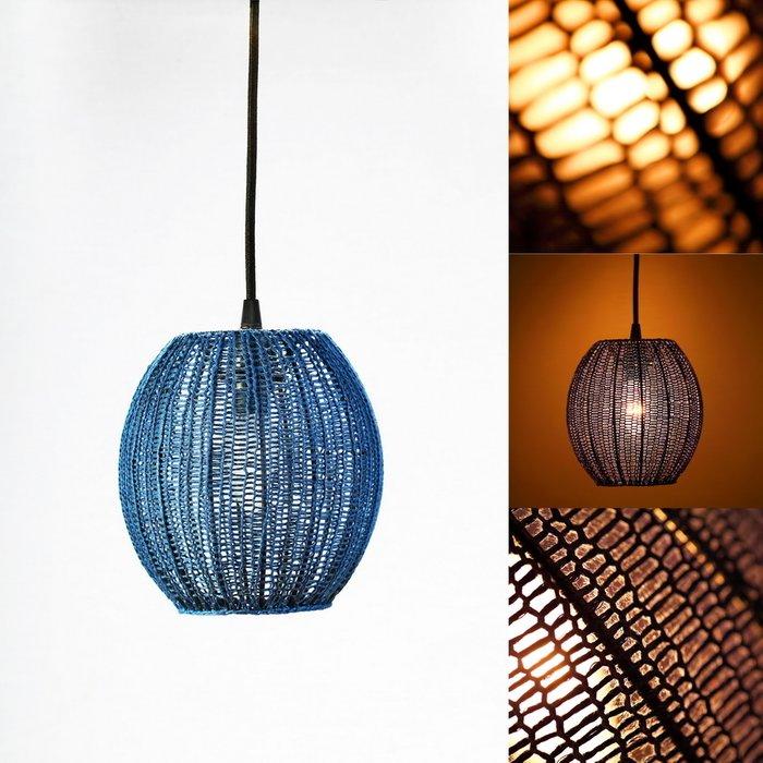 Подвесной светильник Шар Маленький синий